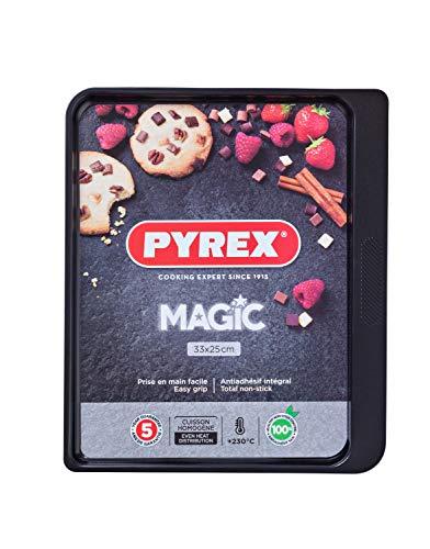 Pyrex Plaque de Cuisson Metal 33x25cm Magic, 33x25 cm