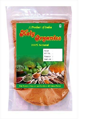 Holy Organics Natural Sandalwood Powder for Face, Multi, 100 g