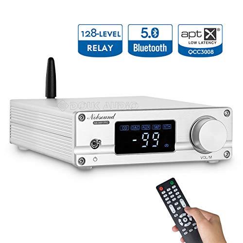 Nobsound NS-08P PRO HiFi Bluetooth 5.0 Digitaler Vorverstärker Home Stereo Audio Preamp + IR Remote