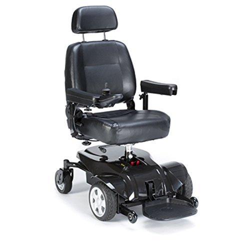 Power Wheelchair w/Semi-Recline Captain Seat (Invacare Pronto P31...