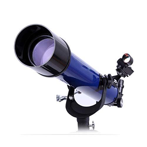 Telescopio, HD Telescopio de Entrada de Gran Aumento Telescopio astronómico 70700A Refracción Telescopio de observación de Estrellas Pantalla de Temperatura Segura y precisa Principiantes y niños