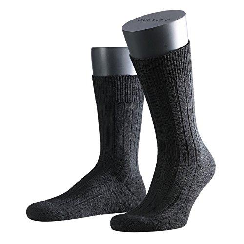 FALKE Herren Socken Teppich im Schuh 3er Pack, Größe:45/46;Farbe:black
