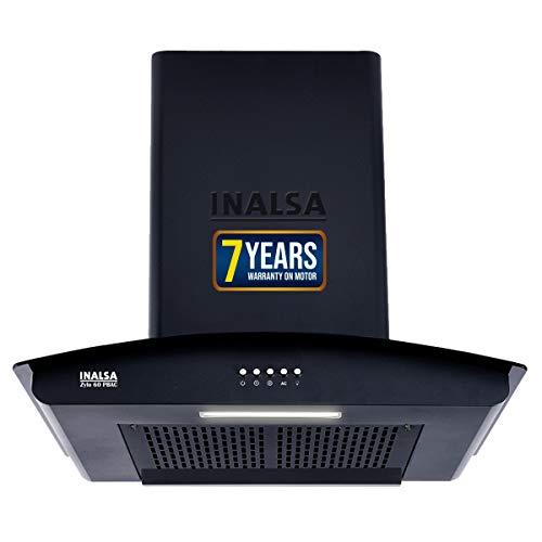 Inalsa Auto Clean Filterless Chimney- 60 cm 1250 m³/hr...