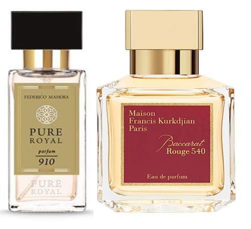 FM 910 Pure Royal Perfume Federico Mahora Unisex 50 ml Perfume Perfume Parfum regalo