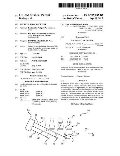 Multiple X-ray beam tube: 97679829767982 (English Edition)