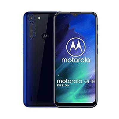 Motorola One Fusion   Unlocked   GSM only   4/64GB   48MP   2020   Deep Sapphire