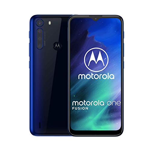 Motorola One Fusion | Unlocked | GSM only | 4/64GB | 48MP | 2020 | Deep Sapphire