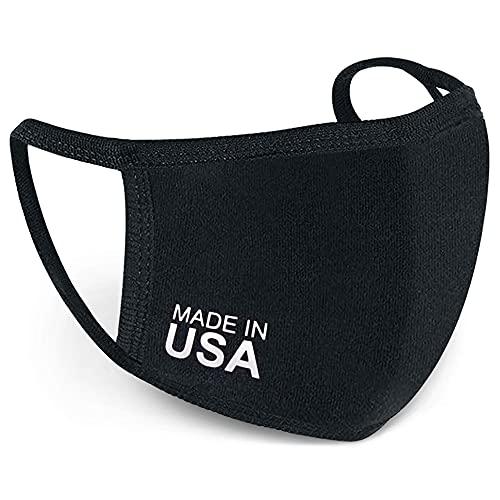 Face Mask – USA Made – Cloth Three-Ply Non-Disposable Face Cover (4)