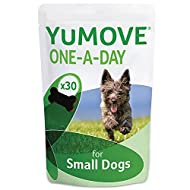 Lintbells | YuMOVE ONE-A-DAY Small Chewies For Dogs | Hip and Joint Supplement for Stiff Dogs | 30 C...