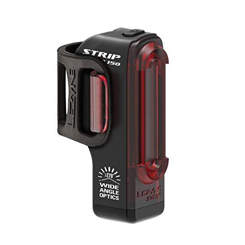 Lezyne Strip Drive achterlicht, led, oplaadbaar, USB, uniseks, volwassenen, zwart, eenheidsmaat
