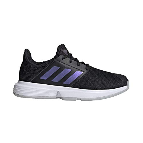 adidas GameCourt W, Zapatillas de Tenis Mujer, NEGBÁS/NEGBÁS/Gridos, 39 1/3 EU
