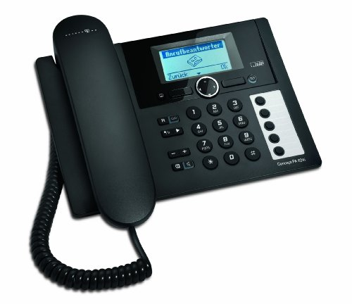 Deutsche Telekom T-Home Telefon Concept PA624i ISDN-Telefon schwarz