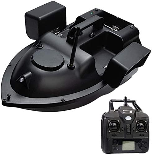 Angelkö der-Kö mit GPS-Rc-Boot-Kö mit 12000-mAh-Batterie 3 unabhä ngige Kö derfä cher、1.5 kg / 3,31 lb Laden