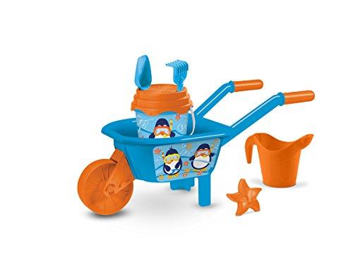 Mondo Toys-MD-19422 Carretilla con Cubo, Molde y Regadera, (19422)