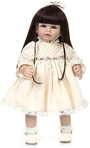 Simulation Doll Reborn Baby Puppen 20 Zoll Prinzessin Baby Reborn Puppen mädchen Puppe Geschenk Partner Spielzeug