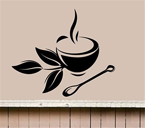 wandaufkleber kinderzimmer jungs wandaufkleber baum mit fotos Kaffee Teetasse Küche Retro für Coffee Shop Zeichen Cup Restaurant Tür Fenster Pub Cafe Decor