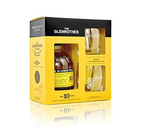 The Glenrothes Speyside 10yo + 2 Tumbler Single Malt Whisky (1 x 0.7 l)