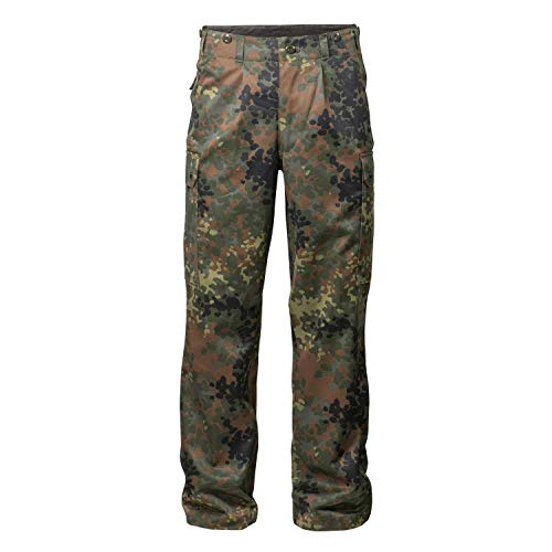 FLECKTEX Original Bundeswehrhose BW Feldhose Flecktarn 5- Farbig für Männer | Outdoor Kampfhose und Survival Hose | Tactical Hose und Security Hose (5)