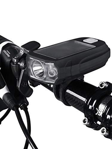 Autokoplampen op zonne-energie hebben geen sterke permanente schittering zaklamp fietsverlichting waterdichte koplamp opladen