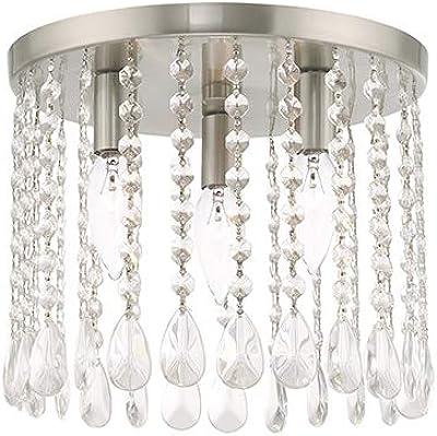 Amazon.com: Livex 51068-91 Elizabeth 5 Light - Lámpara de ...