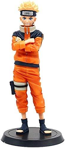 Naruto Acción Figuras Anime Uzumaki Naruto Muñeca Muñeca Modelo Estatua Coleccionables Adornos PVC Juguete Anime Personaje Modelo Anime Fans e Kids Favorito Regalo Escritorio Decoración