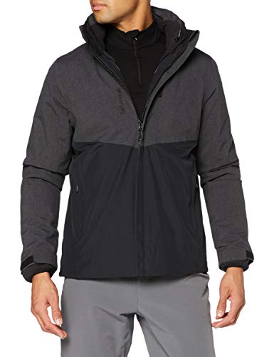 Lafuma Access 3In1 Fleece Jkt M Jacket, Mens, Anthracite Grey, L
