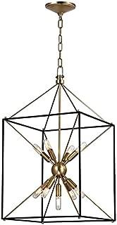 Glendale 9-Light Pendant - Aged Brass Finish