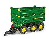 Rolly Toys 12/504/3 Rollymulti Trailer John Deere - Remolque de juguete de 3 ejes , Modelos/colores Surtidos, 1 Unidad