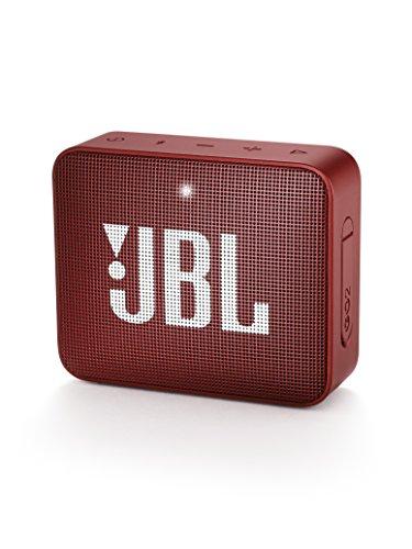 JBLGO2BluetoothスピーカーIPX7防水/ポータブル/パッシブラジエーター搭載レッドJBLGO2RED【国内正規品/メーカー1年保証付き】
