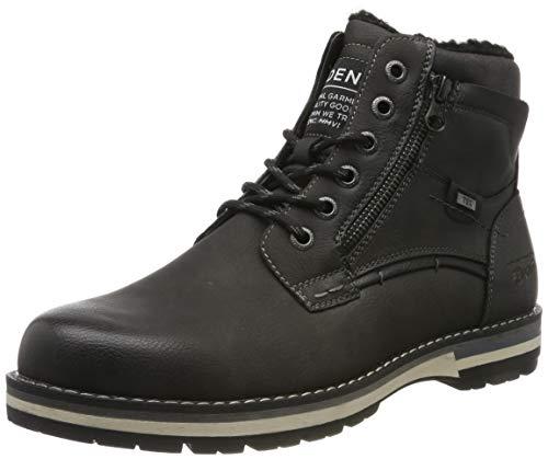 TOM TAILOR Herren 7985502 Klassische Stiefel, Grau (Coal 00013), 45 EU