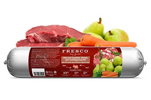 Fresco Dog Barf-Wurst Rind mit Karotten & Birnen
