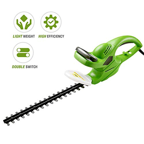 Best Price JMFHCD 500W High Power Hedge Trimmer Corded Weeding Hedge Shear Household Pruning Mower G...