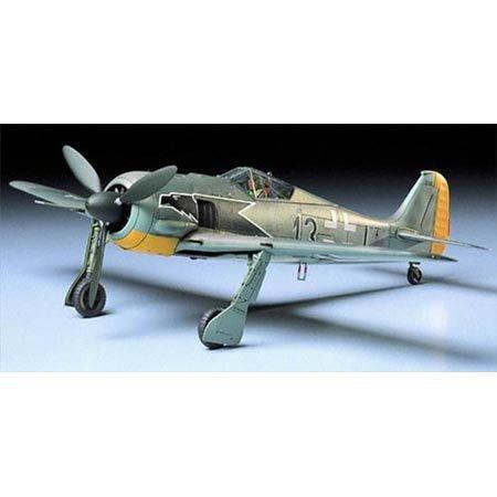 Tamiya America, Inc 1/48 Focke Wulf FW190 A3, TAM61037
