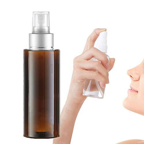 WESDOO Vaporisateur Vide Flacon Spray Vide Respectueux de l'environnement Pulvérisation Bouteille Pulvérisateur en Plastique Bouteille Brown