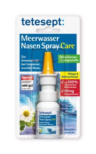 tetesept Meerwasser Nasen Spray Care, 20 ml