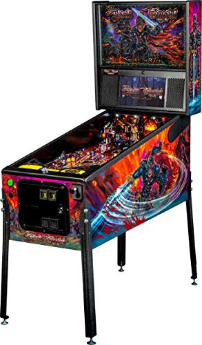Stern Pinball Black Knight: Sword of Rage Arcade Pinbal Machine, Premium Edition