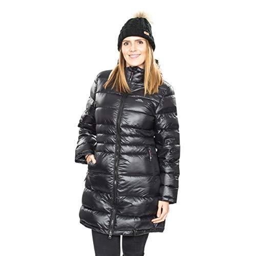 Trespass Marge, Black, M, Warme Daunenjacke 90% Daunen für Damen, Medium, Schwarz