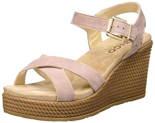 IGI&Co Damen Sandalo Donna DTG 51808 Plateau Sandalen, Pink (Cipria 5180822), 37 EU
