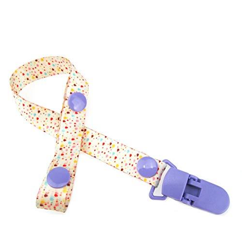 Kongqiabona-UK Bébé Clip Mamelon chaîne Clip Chupete Clip bébé Sucette Clip chaîne à bébé Mamelon chaîne