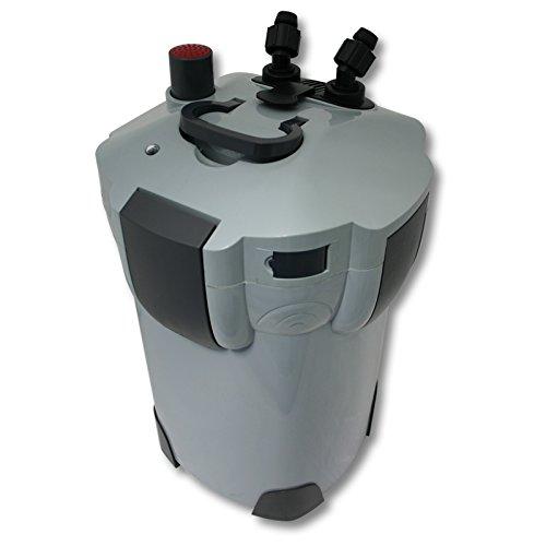 SunSun HW-402B Aquarium Außenfilter 1000 L/h mit 9 W UVC Klärer und 3 Stufen inkl Filtermaterial