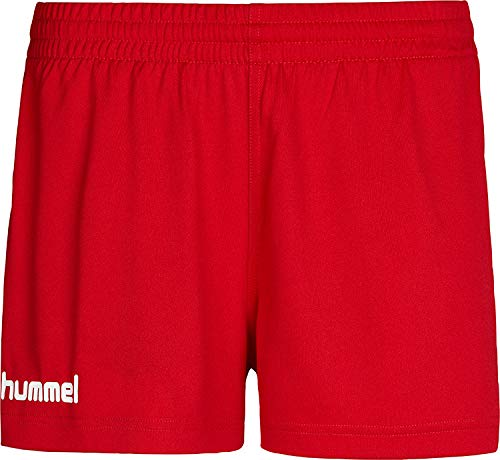 Hummel Core Shorts Femme, Rouge, FR : M (Taille Fabricant : M)