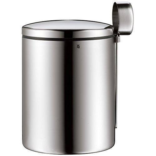 WMF Kaffeedose mit Kaffeelöffel Kult Cromargan Edelstahl mattiert 500g