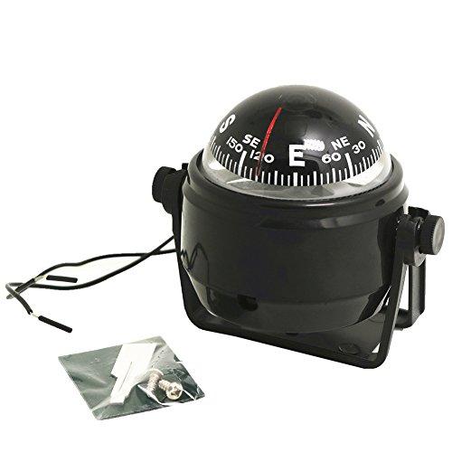 Auto-accessoires, precisiekompas met digitaal elektronisch kompas, licht, led, voor vrachtwagens, gereedschapswagen