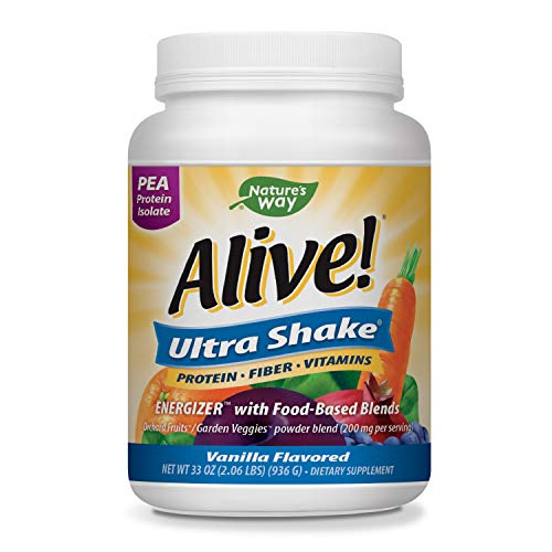 Nature's Way Alive! Ultra-Shake Pea Protein, Includes Vitamins