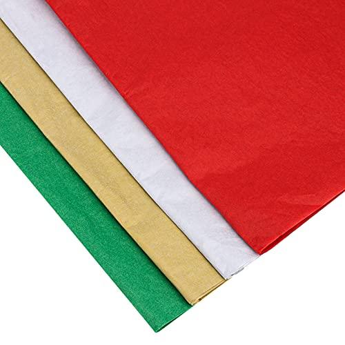 Papel Regalo Navidad Rojo Verde Marca SAVITA