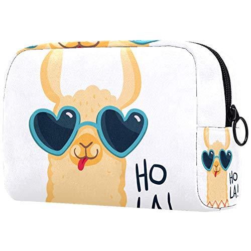 Personalisierte Make-up-Bürstentasche, tragbare Kulturbeutel für Frauen, Handtasche,...
