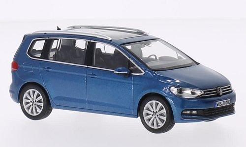 VW Touran, metallic-blau, 0, Modellauto, Fertigmodell, I-Norev 1:43