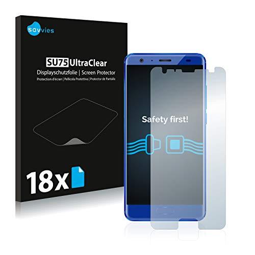 Savvies 18x Schutzfolie kompatibel mit Oukitel K8000 Bildschirmschutz-Folie Ultra-transparent