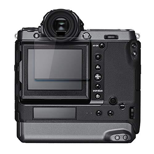 disGuard Protector de Pantalla [Crystal Clear] compatibile con Fujifilm GFX 100 [2 Piezas] Cristal, Transparente, Invisible, Anti-Arañazos, Anti-Huella Dactilar - Película Protectora
