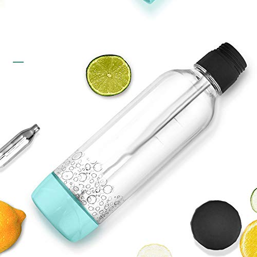 Cosay Portable Soda Bubble Machine DIY Sparkling Carbonate Water Maker for Home Summer Drinking: Amazon.es